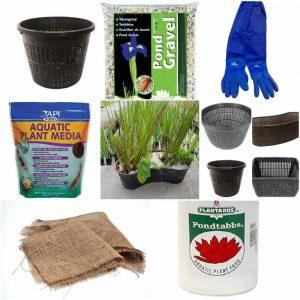 PondH2o Pond Plant Basket Kits & Aquatic Plant Products