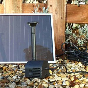 Solar Fountain Pond Pump