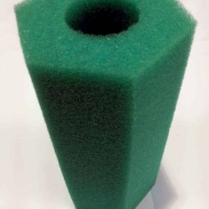 Cyprio Green Machine 1500 Foam Filter 4 Pack, A replacement foam filter media suitable for Hozelock/Cyprio Green Machine 1500 Filter.