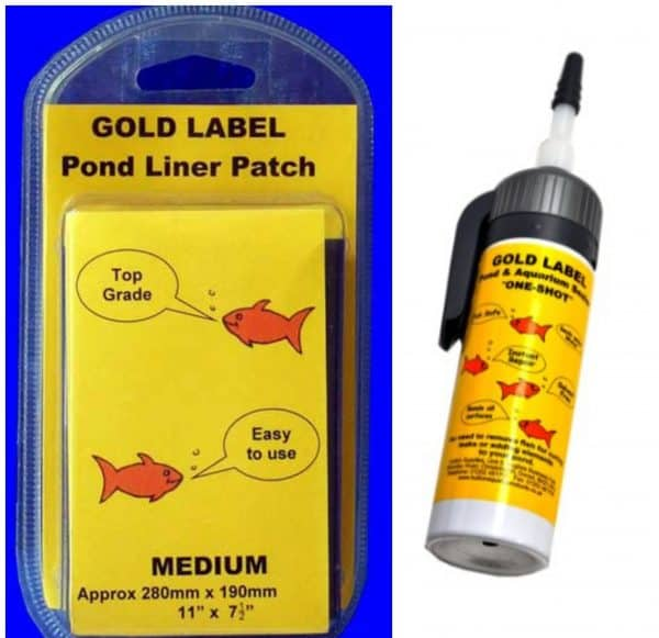 Our Pond Liner Leak Repair Kit is designed to patch and repair a small leak in your pond or water garden.FISH AND PLANT SAFE