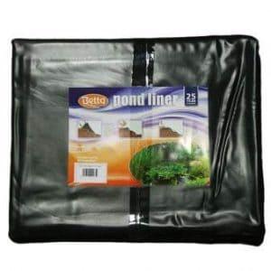 Betta 16' x 9' 9'' Black PVC Pond Liner