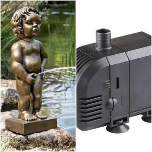 Pond Statue with Pump