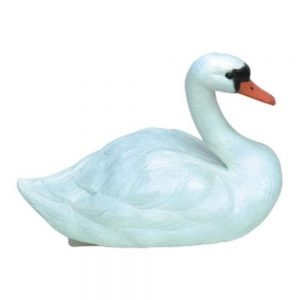 White Swan Pond Decoy