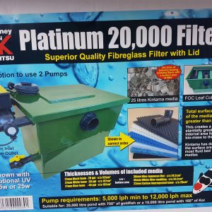 Platinum 5200 Gallon Performance Fiberglass Koi Pond Filter