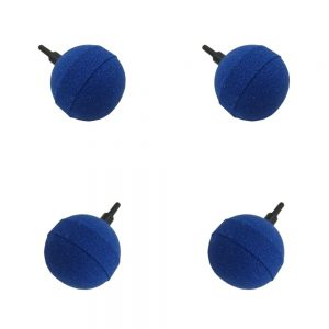 30mm Ball Aeration Airstone For Pond & Aquarium, Value 4 Pack