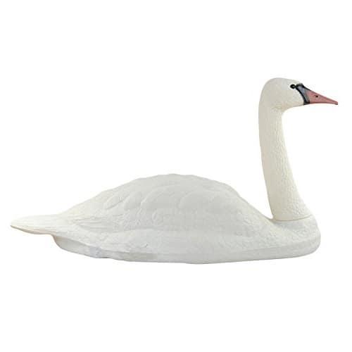 Floating Swan Decoy - Floating White Swan Decoy Large   PondH2o