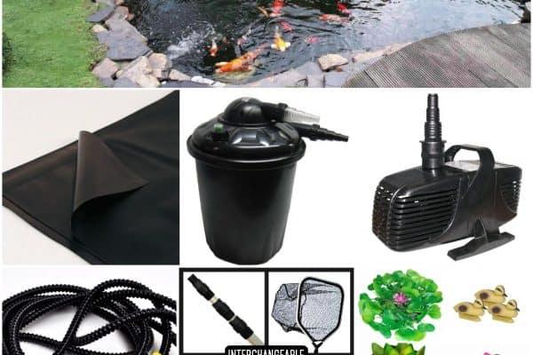 Water Garden Pond Kits