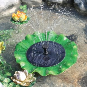 PondH2o Floating Water Lily Fountain Pump
